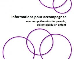 Informations pour accompagner avec compréhension les parents, qui ont perdu en enfant