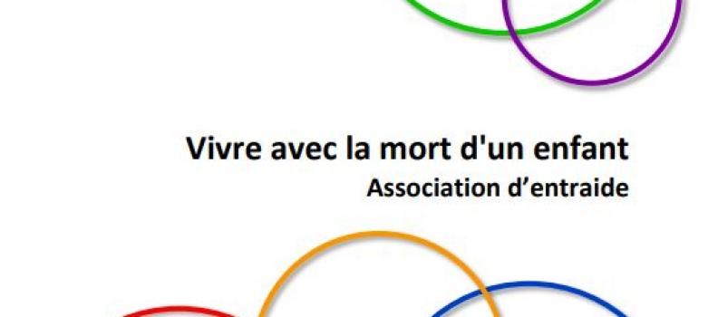 Brochure Association d'entraide – Vivre avec la mort d'un enfant